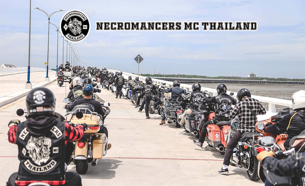 แก๊งบิ๊กไบค์ necromancer mc thailand